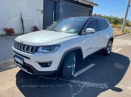 Jeep Compass Limited 2.0 Flex 2018 - Branco Pérola com Apenas 47mil km