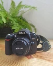 Câmera Nikon D90 + Lente 50mm