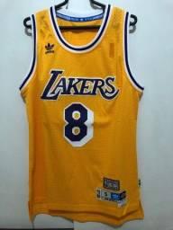 Regata jersey Kobe Bryant Los Angeles Lakers Modelo Retrô (Hardwood Classics)