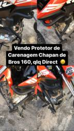 Vendo Protetor de Carenagem Chapan p Bros 160