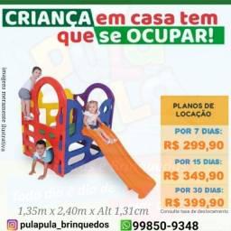 Aluguel de brinquedos por 7, 15 e 30 dias em sua casa, quintal ou apartamento