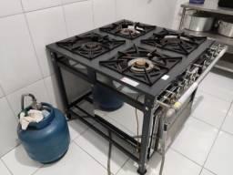 Título do anúncio: Fogão Industrial com forno