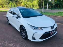 Título do anúncio: Corolla altis premium híbrido/flex 2021 / impecável  / troco e financio
