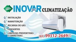 Título do anúncio: Inovar Climatização *