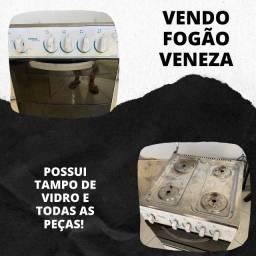 Fogão Veneza Esmaltec 4 bocas automatico