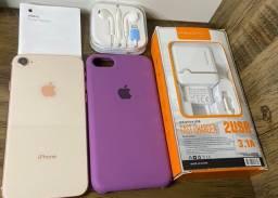 Título do anúncio: iPhone 8 (100% de Bateria) e com acessórios