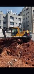 Escavadeira hidráulica volvo 140