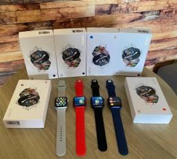 Relogio Smartwatch Hw16 Serie 6 Tela Infinita Coloca Foto