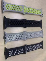 Pulseira Silicone Tipo Nike Para Apple Watch 42mm/44mm