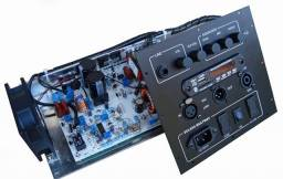 Kit p Caixas Multívias 700 watts RMS (reais) com USB Player