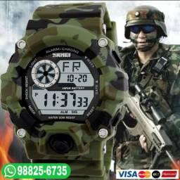Relógio Skmei 1019 estilo G-Shock Prova d'água