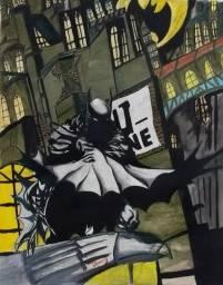 Quadro Batman 40x50 - Estúdio 450
