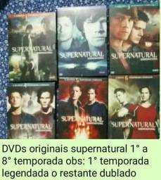 Supernatural 1 a 8 temporada Original