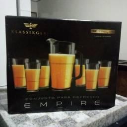 Conjunto para refresco Empire Klassikglas novo