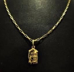 Cordão de ouro 18