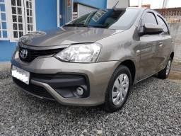 Toyota Etios 1.3 X 2018 Impecável! - 2018