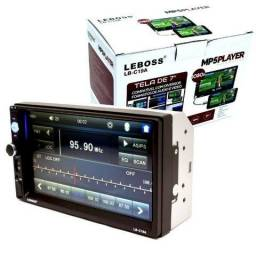 Central Multimidia Mp5 Player 2 Din Touch Espelhamento de Celular Android-ios Universal