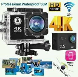 Câmera 4k Sports Ultra - Wi-Fi