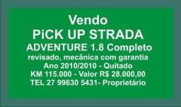 Pick Up Strada 2010 Completa - 2010