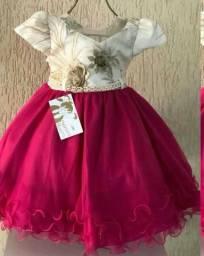 Vestido de festa 1 ano