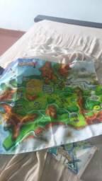 Pokémon X com luva e mapa da pré venda