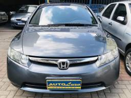 Honda Civic 2008 Automático - Gnv- Multimídia- Novíssimo!!! - 2008