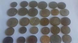 30 moedas antigas