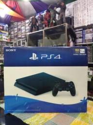 PlayStation e slim 1TB de memória HDR (Carlão games/lacrado/bangu)