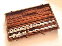 Flauta transversal Selmer Bundy excelente estado.