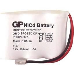 Bateria GP T107 - Para Telefone Sem Fio - Cartela Com 1