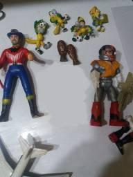Coleção Brinquedos Bonecos Antigos (usados/bom Estado)