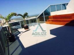 Cobertura com 4 dormitórios à venda, 451 m² por R$ 2.300.000 - Praia Campista - Macaé/RJ