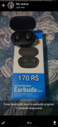 Fone bluetooth xiaomi earbuds basic
