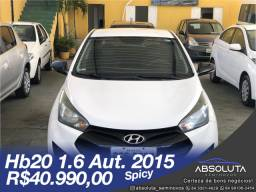Hb20 1.6 Automatico 2015 Spicy