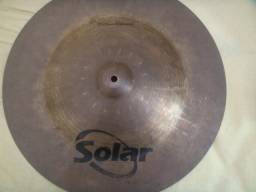 """China de 18"""" Solar (2 linha da Sabian)"""