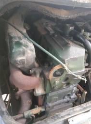 Motor completo MB 709 710 912 Turbo Intercooler Potencia 136 Cv Motor Om 364 com nota