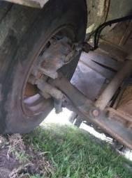 Eixo Dianteiro Caminhão MB 710 709 912 Freio a Disco com Pinças Mercedes