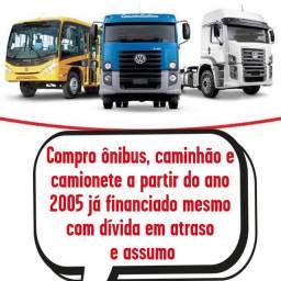 Compro ônibus, caminhão e camionete
