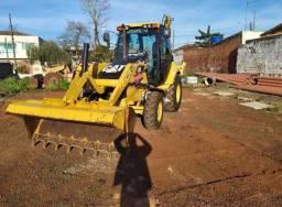 Retro escavadeira Maquina Cat