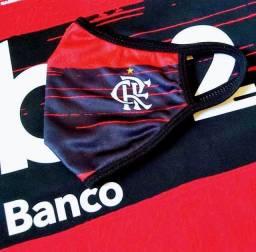 Máscara proteção oficial do Flamengo
