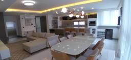 Apartamento com 3 suites, mobiliado e decorado, e vista para o mar, em Balneário Camboriù