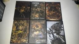 Dvds thrash,death,black..etc