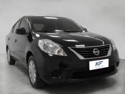 Nissan Versa 1.6 S Preto 2013 Completo