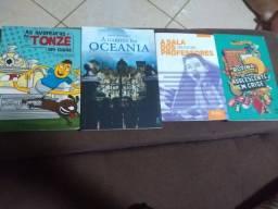Livros crianças e adolecentes