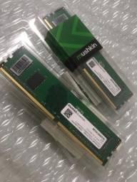Memória RAM DDR4 2666MHz Essentials 8GB 2x4 Mushkin