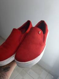 Tênis Santa Lolla Vermelho - Tamanho 36