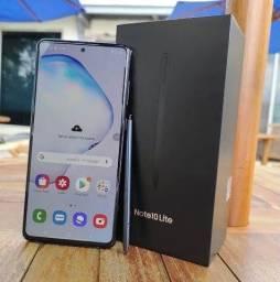 Título do anúncio: Samsung note 10 lite 128gb - novo com nota fiscal + brindes