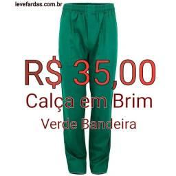 Título do anúncio: Calça Operacional em Brim - Verde Bandeira