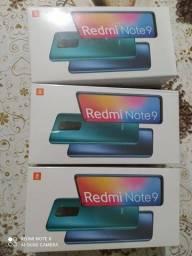 Xiaomi redmi not 9 128 gigas. Cor cinza.