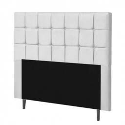 Título do anúncio: Cabeceira Para Cama Box Casal 160 cm Sleep Branco Sintético